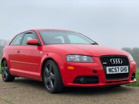Audi A3 2.0 TFSI S line S Tronic 3dr 2007 Good Condition