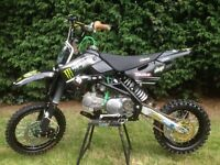 Stomp KZR 140cc pit bike