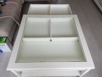 Lovely ikea white coffee table