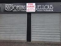 Flexible, commercial space. Double shop front. 615 Sq Ft, Retail