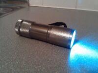 LED Torch, Chrome SunTech