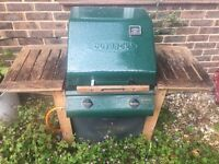Outlook Trooper two-burner gas BBQ