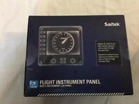 2 x Saitek Flight Instrument Panels