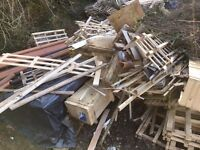 Scrap Timber and Pallets