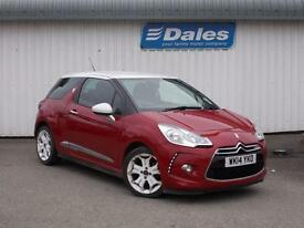 Citroen DS3 Design By Benefit 3DR Hatchback (red) 2014