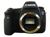Canon 6d DSLR in excellent condition with low shutter count, original box, batteries and charger.