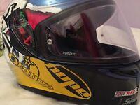 AGV K5 Guy Martin 3some helmet.