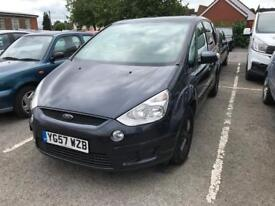 2007 Ford S-Max 1.8 TDCI, Great Family Car, 12 Months MOT