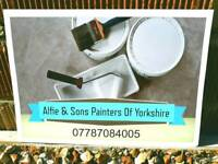 Alfie & Sons Painters Of Yorkshire Friendly Personal Service Call Us Today On 07787084005
