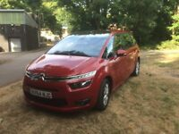 2014 Citroën C4 Grand Picasso 1.6HDi VTR+ Manual 5dr 7seat red