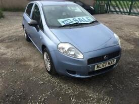 FIAT PUNTO 1.2 PETROL MOT SEPTEMBER 110K MILEA 2007 CHEAP £800