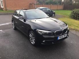2015 BMW 1 Series 1.5L 116D Sports Hatch 5dr, Auto, Cruise Control, Sat Nav, Start Stop