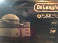 Delonghi multi fry new & boxed