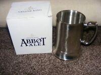 New Abbot Ale Tankard.