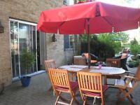 parasol haut de gamme rouge