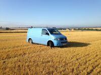 Volkswagen T5 transporter - ideal camper, rare colour