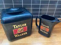 Taylor Walker Bar Jug and Ice Bucket