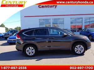 2014 Honda CR-V EX-L+100k warranty