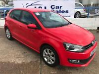 VOLKSWAGEN POLO 1.2 MATCH TDI 5d 74 BHP A GREAT EXAMPLE INSIDE AND OUT (red) 2012