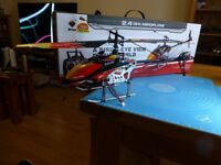 Wltoys V913 RC helicopter, brushless version, £35 cash on collection only please.