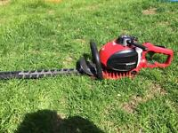 Petrol lawnmower hedge cutter and strimmer