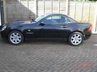 Mercedes SLK230 Auto 1999 Black None Runner