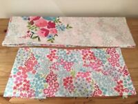 Twin sided pattern Pillow cases x2