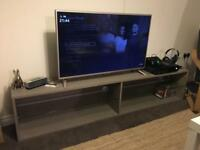 IKEA tv stand to unit brown/grey colour