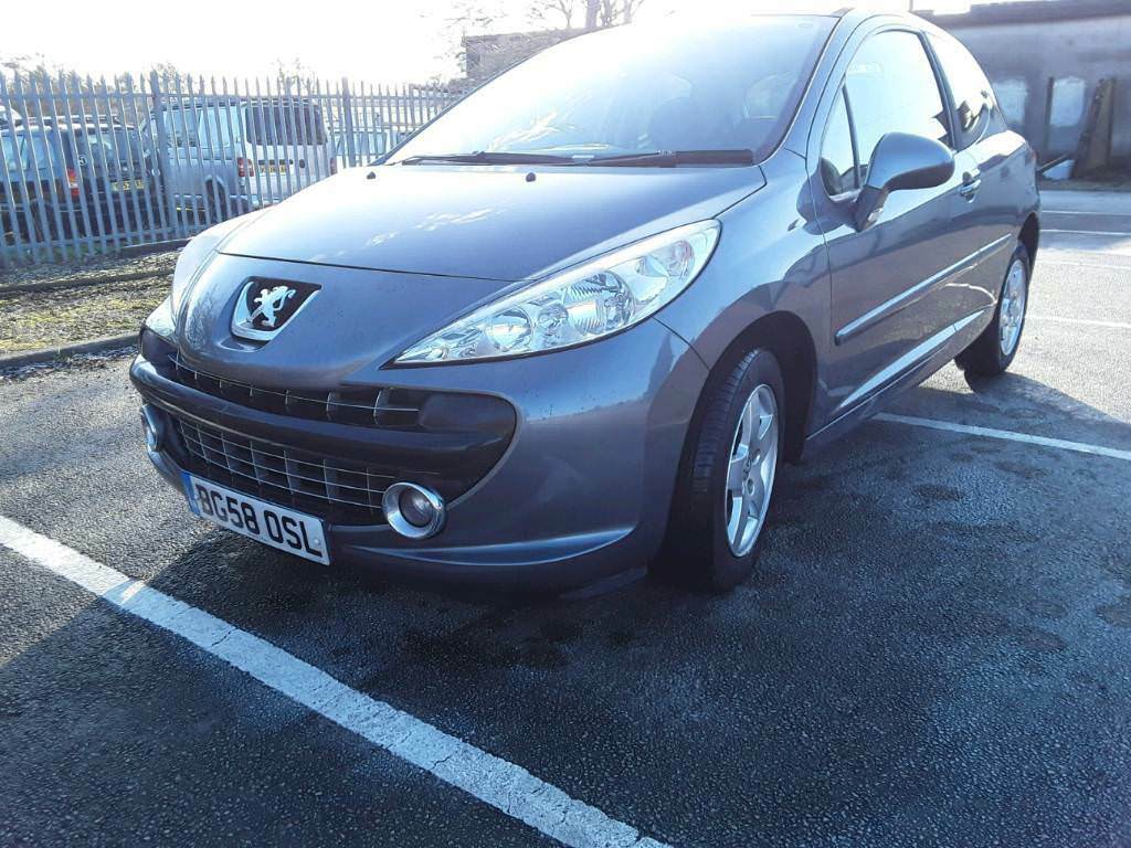PEUGEOT 207 SPORT 1.4 PETROL MANUAL 1OWNER SERVICE HISTORY