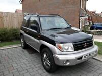 Mitsubishi pinin 2003 85k 9 months mot 4x4