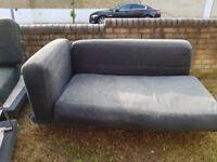 Modern style chrome border sofa