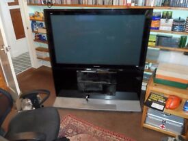 Panasonic 50in Plasma TV with stand