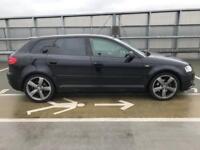 AUDI A3 S LINE BLACK EDITION 2012 2.0 TDI - BOSE AUDIO - LOW MILES - £30 TAX - VW BMW GTI PX OFFERS