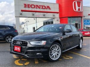 2015 Audi A4 Komfort plus, loaded, priced right