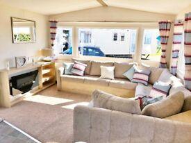2018 Model Static Caravan FOR SALE.Sited.Exclusive Park - Heacham Beach N.Norfolk. Indoor Pool