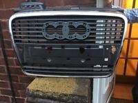 Audi A4 b7 2005 2008 bumper grill verry cleaner