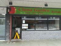 A takeaway shop for selling