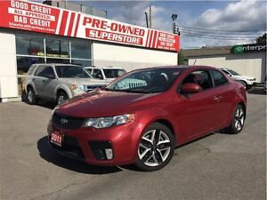 2011 Kia FORTE KOUP SX CLEAN CAR PROOF ONE OWNER