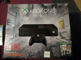 XBox One Bundle 1TB- Division Limited Edition