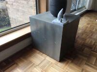 Zinc side table