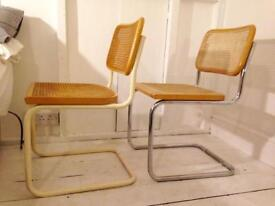 Vintage Marcel Breuer Style Dining Chairs