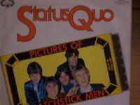 STATUS QUO VINYL LP - PICTURES OF MATCHSTICK MEN