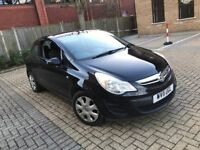 2011 VAUXHALL CORSA 1.3 CDTI 16V 75 E/F EXCLUSIV DIESEL MANUAL 3 DOOR HATCHBACK 5 SEAT N FIESTA POLO