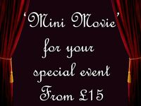 Affordable 'mini movie'/ slideshow for your wedding, birthday present, babies 1st year journey etc