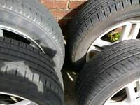 Ford focus alloys 15'and tires