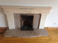 Marble Fireplace and Radiator