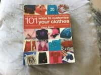 101 ways to customise clothes book