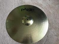 """Paiste 101 brass 20"""" ride cymbal and stand"""