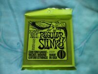 ERNIE BALL REGULAR SLINKY GUITAR STRINGS.