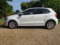 Immaculate Polo 1.4 Match, White. Fantastic Low Mileage Example